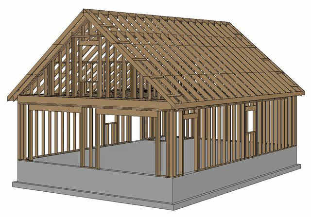 House Construction Clip Art : Pictures of home construction frame clipart kidskunst