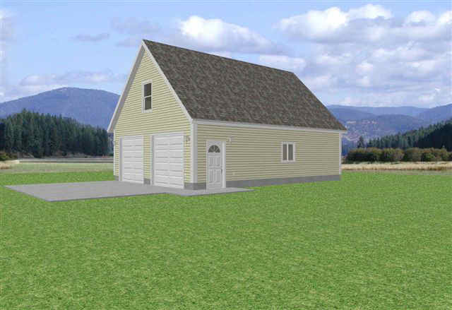 Garage Building Plans | New Plans for Sheds