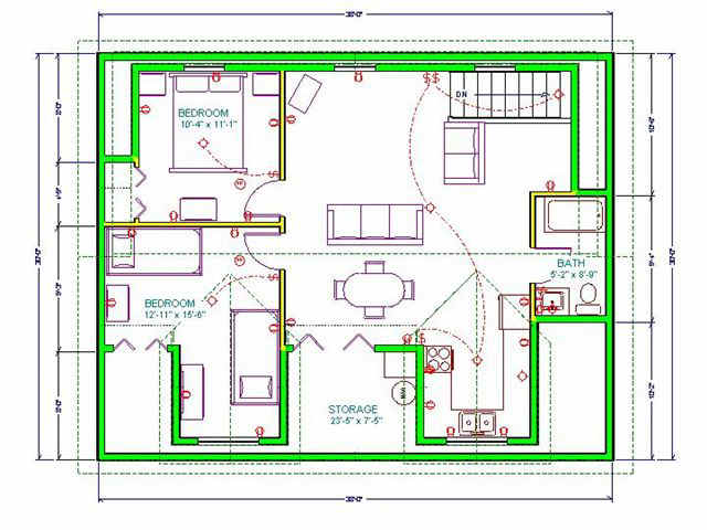 30 x 38 cape cod garage with upstairs apartment plan for Upstairs plans
