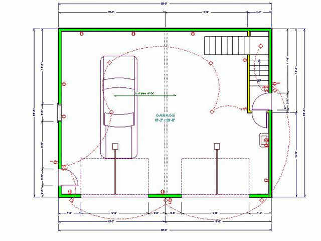apartment garage blueprints sds plans simple 4 car garage house plans