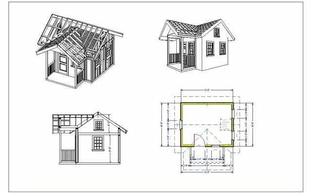 free playhouse plans SDS Plans
