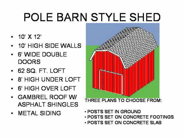 Free Barn Shed Plans