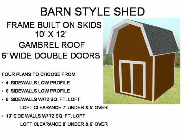 Shed with Living Quarters Plans