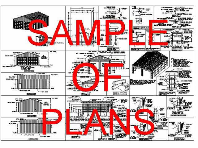 Pole Barn House Plans SDS Plans - Barn home plans blueprints