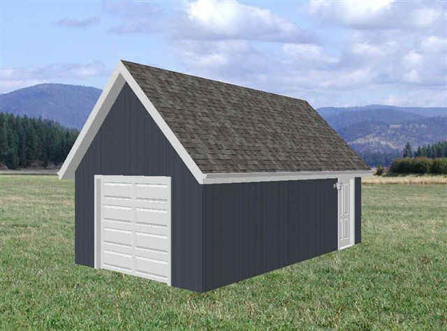 Garage house cabin shed playhouse for Playhouse with garage plans